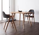 カフェにシンプルモダンなテーブルセットを