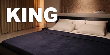 キングサイズのフロアベッド
